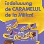 poster Lansare Milka Caramel